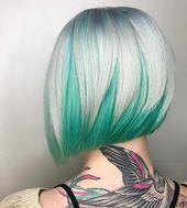 ▷ Über 1001 Ideen für farbenfrohes Haar. Bunte Haarfarben sind immer aktuell!   – Bobs