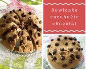 Ce bowlcake cacahuète chocolat ne vaut que 3sp Weight Watchers. Il a un bon go…