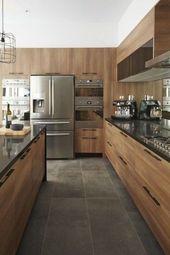 60 beliebte zeitgenössische Küchen-Design-Ideen