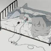 50 Illustrations sombres de l'Artiste japonais Avogado6 qui vous feront réfléchir