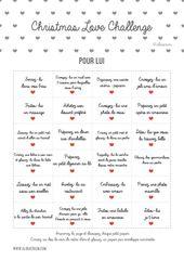 Christmas Love Problem POUR LUI à imprimer #calendrierdelavent #adventcalenda…