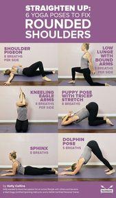 Kehren Sie bei diesen sechs rückwärts gerichteten Yoga-Haltungen die schmerzenden, abgerundeten Schultern um. Ge