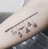 New Tattoo Simple Harry Potter 65+ Ideen, #disneytattoo #Harry #ideas #Potter #Einfache #Tatto …