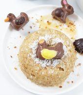Nid de pâques en bowlcake insert chocolat de Pâques A pâques on plaisante pas…