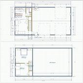 Metal Buildings With Living Quarters Floor Plans   Google Search | Pole Barn  | Pinterest | Pole Barn Garage, Barn Garage And Barn