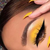 The 40 Hottest Yellow Acrylic Nails to Spice Up Your Style