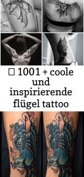 ▷ 1001 + coole und inspirierende Wings Tattoo Designs und deren Designs 17 – Tattoos