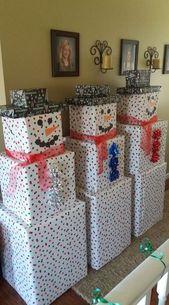 Creatieve kerstverpakkingsideeën voor kinderen