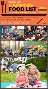 La liste complète des aliments de camping pour la planification, l'emballage et la cuisson   – Outdoor Life