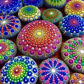 Painting stones – an easy technique and 29 inspirational pictures for beginners