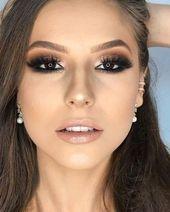 65 Die außergewöhnlichste heißeste Smokey-Augen-Make-up-Idee macht Sie zu ein…
