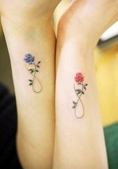 40 Mutter- und Tochter-Tattoos, um deine Bindung zu erklären #binden #klar #mu … – Neue Frisuren