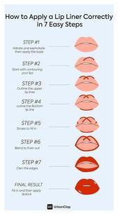 Make-up Must-Haves: Wie und warum sollte man einen Lip Liner verwenden?   – Makeup Lips