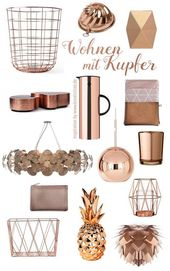#Copper #Living #Living #Home #Decorate #home