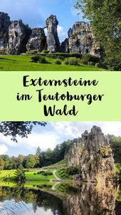 Ausflugsziele im Teutoburger Wald