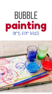 DIY Bubble Painting for Kids 2