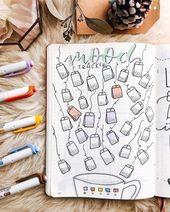 30+ Einzigartige Bullet Journal Mood Tracker-Ideen, um Sie geistig ausgerüstet zu halten