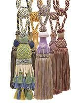 Beautiful Antique Gold Curtain Drapery Tassel Tieback 10