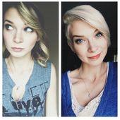 Von langen zu kurzen Haaren: 10 Bilder Vorher-Nachher-Frisuren – lasst euch inspirieren – Neue Frisur
