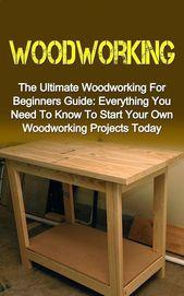Saure Holzbearbeitungsprojekte für Sie #CraftSupplies #WoodProjectsForBeginners