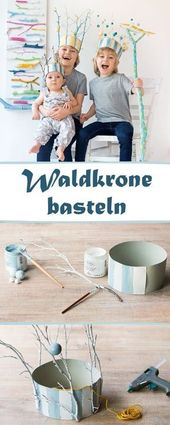 Great Pics Make a forest crown for little elves and kings | familie.de  Suggesti…