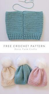 Free Pattern – Crochet Amore Winter Hat