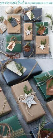 Muster und Vorlagen für einzigartige Geschenkanh…