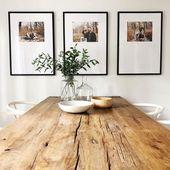 Super cute modern farmhouse inspired kitchen