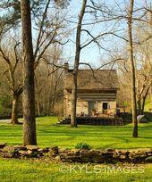 23 acres, Artist Retreat, 1840 Log Cabin, vacation…