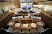 Azimut 50 Flybridge dining area  :: Yacht parts & Watermakers :: www.seatechmari…