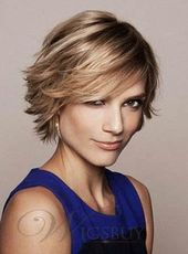 Soft Charming Short Straight Full Lace Human Hair Wig 8 Inches
