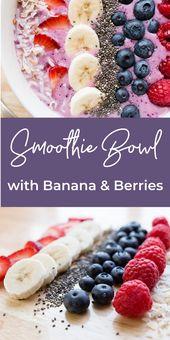 Erfahren Sie, wie Sie eine Smoothie-Schüssel mit Ihrem Lieblingsjoghurt, frischem Obst und …   – Smoothie Recipes