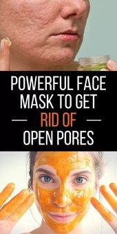 Here is a very powerful homemade face mask for pores that you can make at home u… –