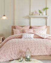Urban Habitat Brooklyn 5-Pc. Twin/Twin Xl Cotton Jacquard Duvet Cover Set Bedding