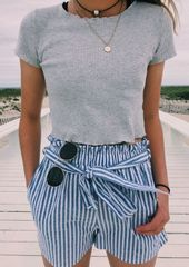 44 Outstanding Outfit Summer Ideas for Teenage Girls