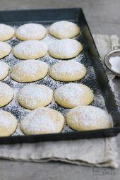 Zitronen Cheesecake Cookies