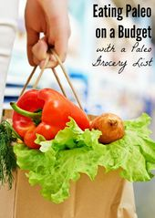 Paleo Grocery List & Eating Paleo on a Budget – Shaping Up To Be A Mom