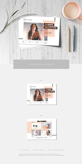 Fashion postcard flyer #size#Superclean#Features#invitations