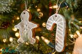 Gingerbread Salt Dough Ornament Tutorial–Tikkido….