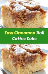 Easy Cinnamon Roll Coffee Cake Easy Cinnamon Roll Coffee Cake is simple and quic… – Desserts