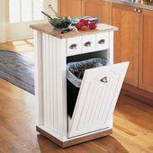 Mutfak Çöp Kovaları İle Mutfak Dekorasyonu | Fikir TV