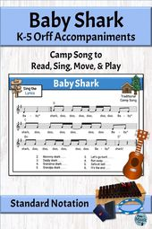 Foolish Track with Orff Association | Child Shark