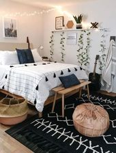 Essential steps to awesome modern bohemian bedroom decor ideas 28