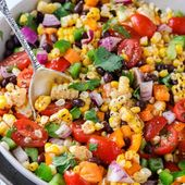 Black Bean and Corn Salad {ready in 20 mins} – Spend With Pennies