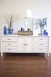 Painted Sideboard Buffet for the Dining Room  – 2 Bees Painted Furniture