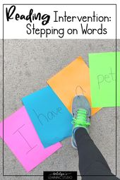 Studying Intervention Actions to Assist your Struggling Readers