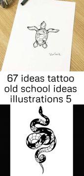 67 Ideen Tattoo Old School Ideen Illustrationen 5