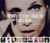 Top 17 Easy Eyeliner Tricks You Should Know …