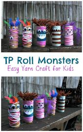 TP Roll Monsters!