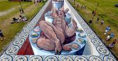 Feast Your Eyes On These 7 Brilliant 3D Chalk Illustrations — HuffPost   – Art…   – Street Art